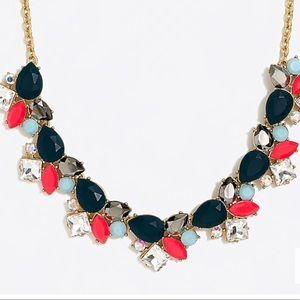 Gorgeous colorful jcrew statement necklace